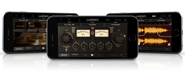 Lurssen Mastering Console for iPhone - The first pro-audio mastering app for iPhone